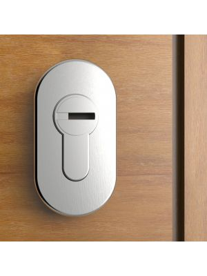 Oval Key Escutcheon / Key Lock Cover