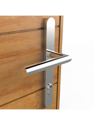 Multipoint Door Handle Pair - Marine Grade Stainless Steel (Dual Sprung)