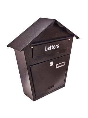 Post Box - Black