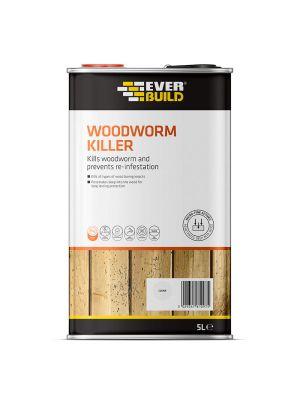 Everbuild Woodworm Killer, 5L