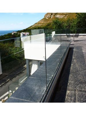 Q-Railing Frameless Glass Base Channel - Top Mount