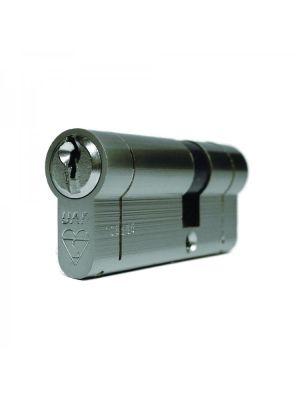 High Security Euro Double Cylinder Door Lock - Nickel
