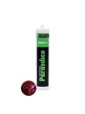 Parasilico AM85 High Grade LMN Silicone Sealant - 310ml Wine Red RAL 3005