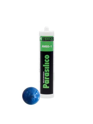 Parasilico AM85 High Grade LMN Silicone Sealant - 310ml Gentian Blue RAL 5010