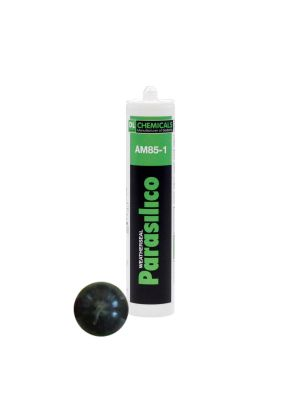 Parasilico AM85 High Grade LMN Silicone Sealant - 310ml Black RAL 9011