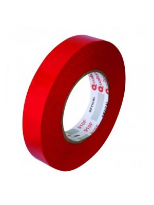 High Performance Double Sided Clear Polyester Tape - Red Filmic Liner