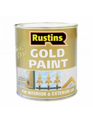 Quick Dry Gold Paint