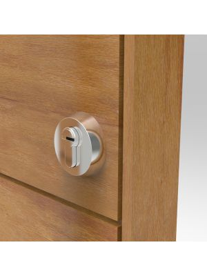 316 Marine Grade Satin SS Security Escutcheon