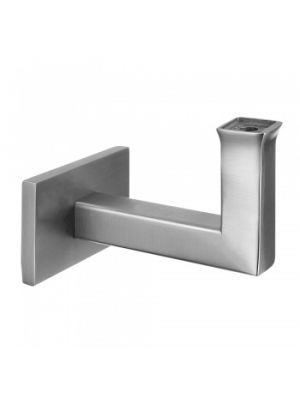 Square Handrail Bracket - Flat Plate To Flat - Flush Fix