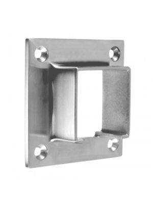 Square Wall Flange for Capping Rails