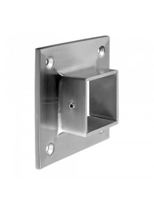 Square Wall Mount Flange Fixing - Grade 304 & 316