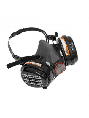 Respirator Half Mask With A2P3 Filters
