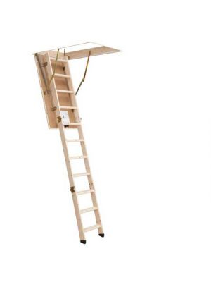 Dolle SW26-3 Section Folding Attic Ladder