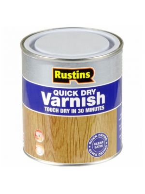 Quick Dry Clear Varnish - 500ml
