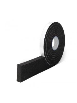 Xpanda Black Sealing Foam Tape, 2-4mm Gap Size