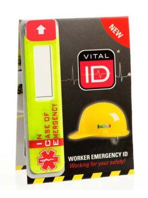 Vital ID Helmet Sticker