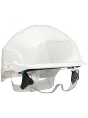 Centurion Spectrum Ratchet Vented Helmet in White