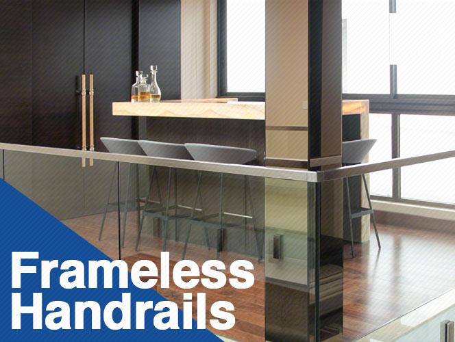 Frameless Handrails