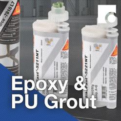 Epoxy and PU Grout