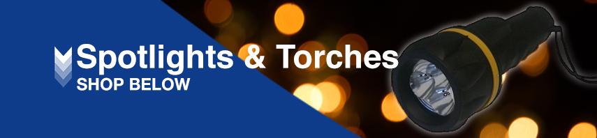 Spotlights & Torches