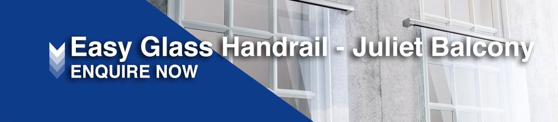 Easy Glass Handrail - Juliet Balcony