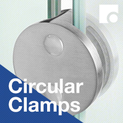 Circular Glass Clamps