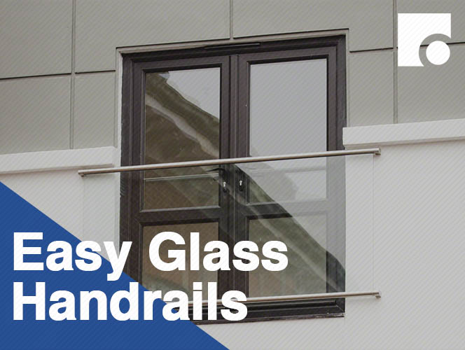 Easy Glass Handrails