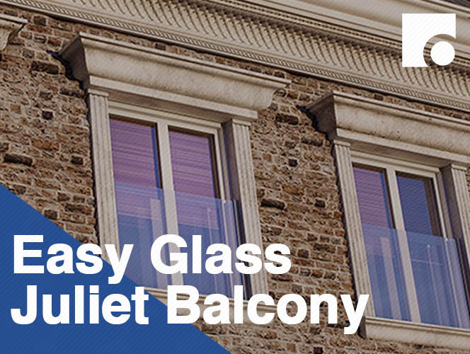 Easy Glass Juliet Balcony