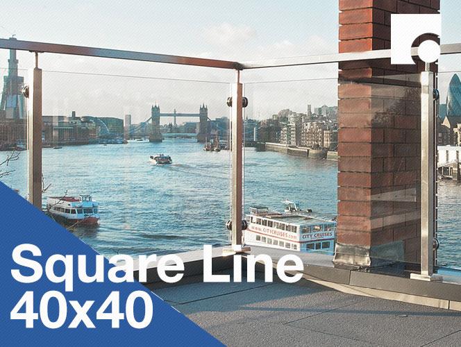 Square Line 40x40