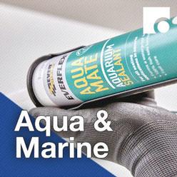 Aqua and Marine