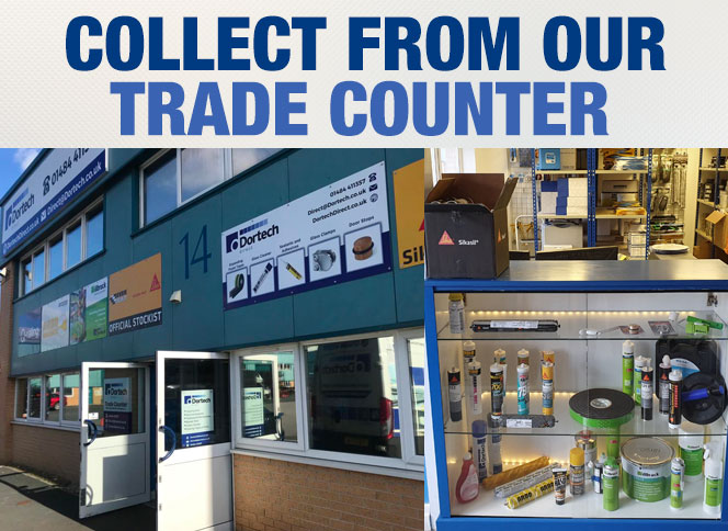 Collect from our Trade Counter