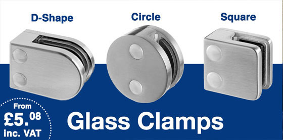 new glass clamps